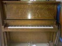 I have a victor piano for sale in great shape. 1-