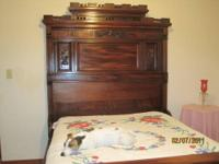 You are viewing a 3 pc victorian bedroom suite in