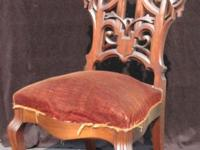 This lovely Late Victorian Slipper Chair is done in the