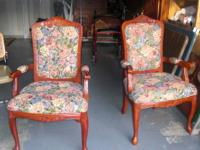 These are beautiful Victorian style chairs. Floral