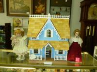 Nice Victorian Doll House. Rate: $50.00 Excellent