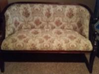 Victorian love seat  great shape never used i just need