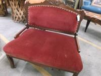 Antique Victorian Settee, encounter exactly how the