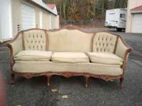 Nice victorian sofa from the early 1900's. 150 obo