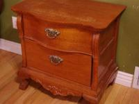 Victorian Style Quarter-Sawn Oak End Tables, - $150 EA