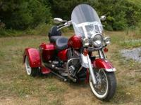 Stunning TOURCRUISER with removable TRIKE available for