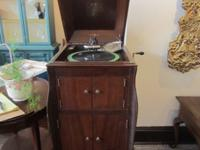We have this Victrola Victor Talking Machine For Sale!!