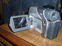 jvc mini dv camera in great shape and great working