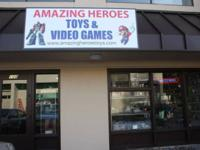 Amazing Heroes: Toys & Video Games 11232 120th AVE NE