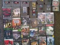 Selling all my games. Which includes: PS1,2,&3, Wii,