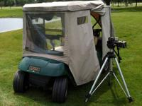 Video Golf Cart; Completely waterproof, DVD and VHS
