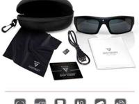The SOL video recording sunglasses have Bluetooth