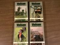 Sony/Time Life- Vietnam A Television History-VHS Lot of
