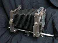 "Burke & James, 4x5, View camera with 20"" rail, with all"