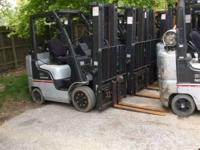 Raymond Forklift 2002 4000LBS For info call  or go to