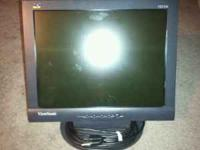 "I have a 15"" ViewSonic flat panel lcd monitor model #"