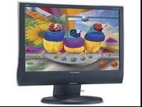 "The ViewSonic 20"" VG2030wm features a 16:10 WIDESCREEN"