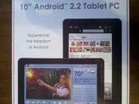 I'm selling my Viewsonic G-Tablet. This tablet is a