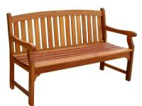The Outdoor Wood Bench will bring comfortable and