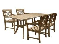 Choose Rectangular Table and Armchair Outdoor
