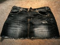 Vigoss women's Jean mini skirt. Great condition. Size