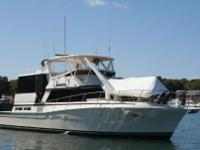 Immaculate 1985 50' Viking CPMY 2150 Original Hours on