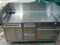 VIKING DCM BBQ Grill Cart with Oven Model: BQCO53T1SS