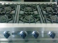 "GENTLY USED 36"" Pro-Style Gas Rangetop with 6 Open"