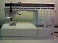Viking 1100 sew machine gently used. 9 memories, many