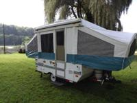 Viking Pop up camper 1997. 13500 btu Ac with heat