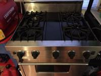 "For Sale Used Viking 30"" Professional Stainless Steel"
