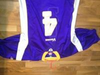Minnesota Vikings Brett Farve jersey, only worn a