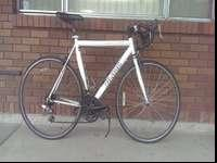 This is a Vilano Tuono road bike, 21-speed, 58 cm