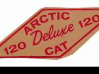 This is a vinatge Arctic cat decal, this is from the