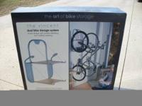 New, in box, Vincent Dual 2 Bike Storage Rack with 2