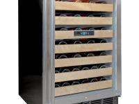 The Vinotemp VT-50SBW wine cooler is a beautiful