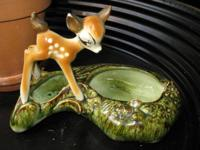 Available For Sale  Vintage Bambi Walt Disney Planter