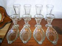 I have a vintage 12 piece set of ice cream glassware.