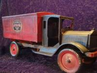 This very nice old Buddy L toy dates to late 1920's.