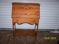 This Desk was made in the 20's or 30's It is very