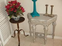 Vintage 1930'S Hall Console Table - Amazing Detail