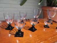 Great Collection of Vintage Fostoria Glassware Art Deco