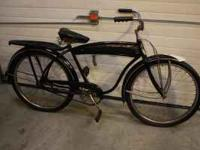 I have a 1940 (?) Western Flyer cruiser bike with a