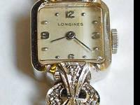 Vintage ladies wristwatch made by Longines, one of the