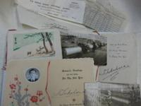 Come and get this collection of vintage correspondence