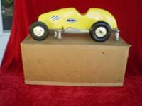 This is for a 1948 McCoy Invader tehter car with rail