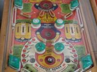 Vintage 1948 Wooden United Stardust Parlor Pinball