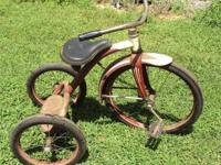 All original 1950's Olson Tricycle with Troxel Seat
