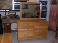 This mid century bedroom set has been in my family