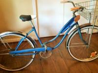 Rare 1950's ladies 26 inch all American made Rollfast
